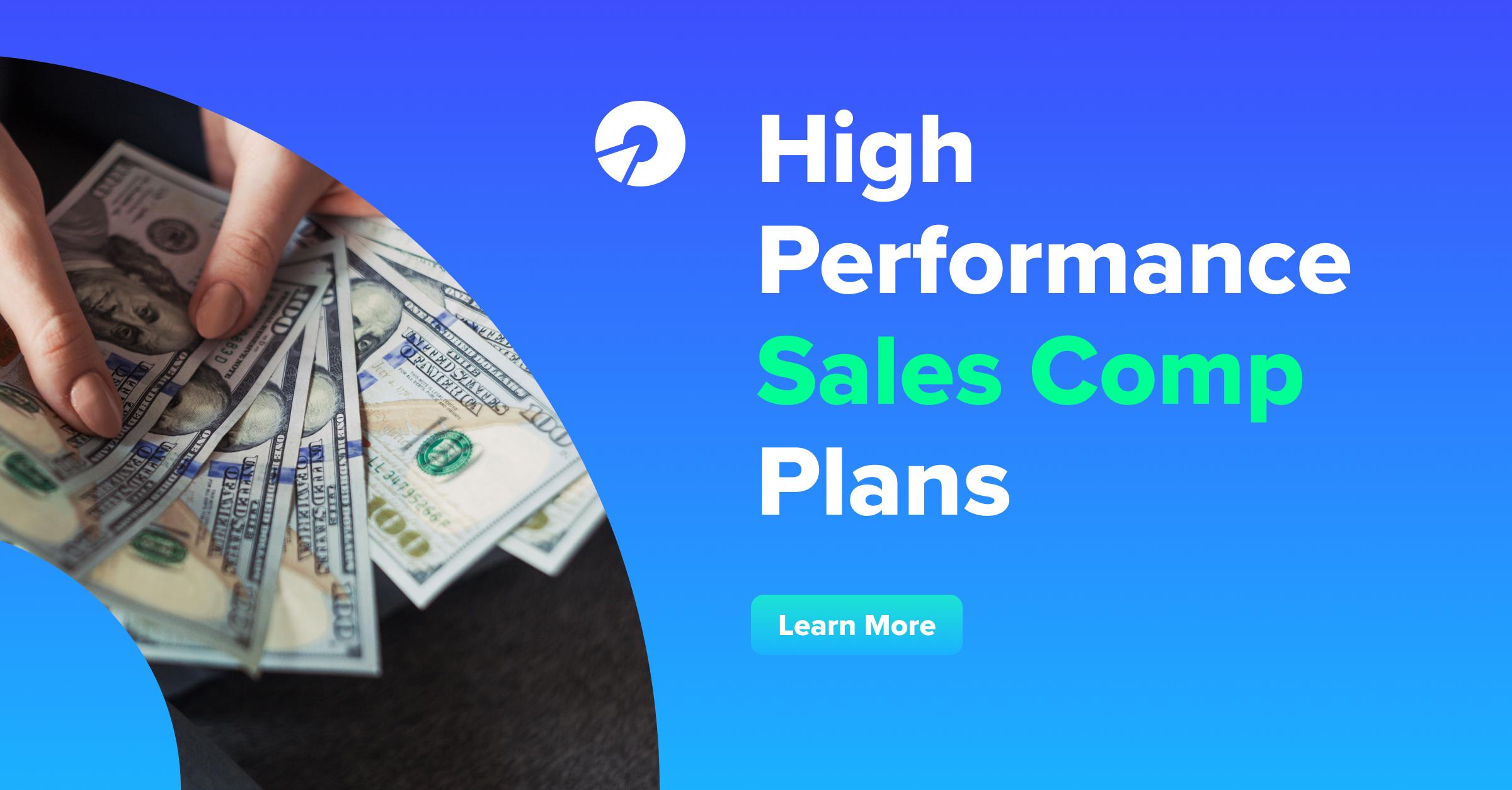 High Performance Sales Compensation Plans