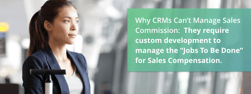 CRM sales commission