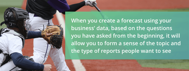 Performio helps you forecast sales performance accurately