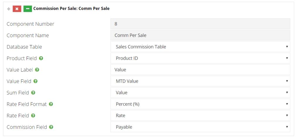 commission per sale
