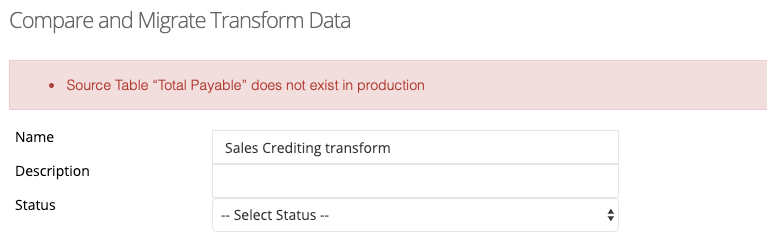 Transform Data - Referencing Fields That Do Not Exist in Destination