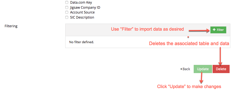 Salesforce Object Importer Update