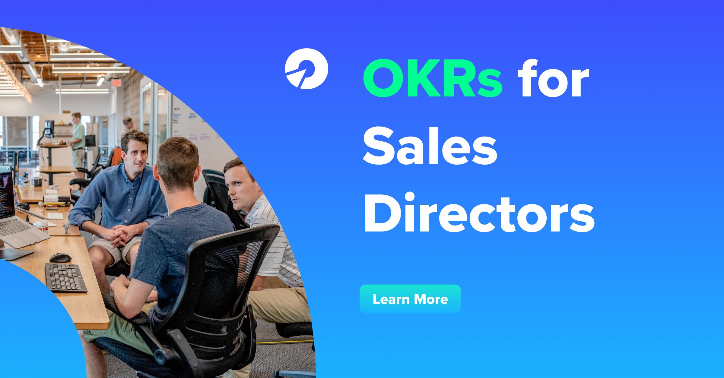 Sales OKRs for Sales Directors