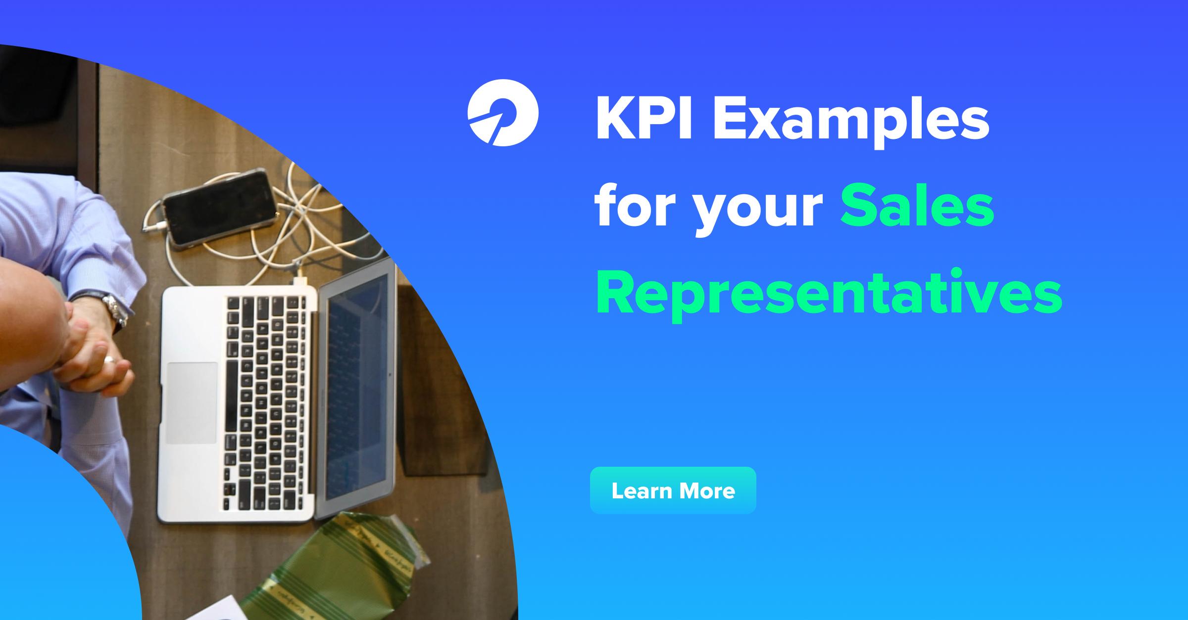 kpi examples for sales representative